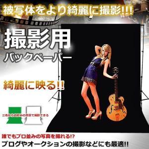 撮影用 背景 バックペーパー 3サイズ 人物 写真 調節 組立 カメラ KZ-BAKUPE 即納|kasimaw