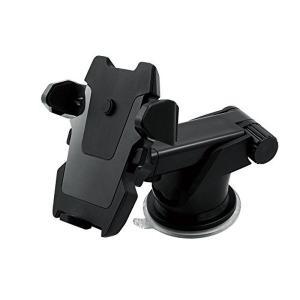 吸盤固定 装着 簡単 車載 スマホ スマートフォン ホルダー KZ-JHD-31HD71 即納|kasimaw
