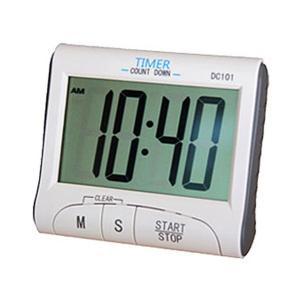 大きな画面で表示が見えやすい キッチン タイマー 時計 KZ-TIMER 即納|kasimaw