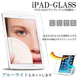 iPad mini 強化ガラス ブルーライトカット 9H フィルム 保護 タブレット KZ-IPDGLASS 即納|kasimaw
