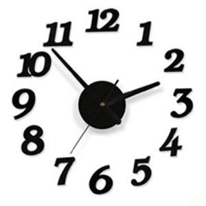組立式 アート時計 壁面取り付け 簡単 クロック インテリア 小物 壁掛け KZ-DIYCLOCK  即納|kasimaw