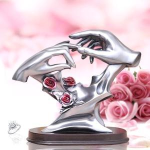 インテリアオブジェ 「永久の誓」 結婚記念 結婚式 プレゼント プロポーズ KZ-FA201-B 予約|kasimaw