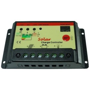ソーラー パネル チャージコントローラー 12V 24V 10A KZ-SOLA-COM1224  即納|kasimaw