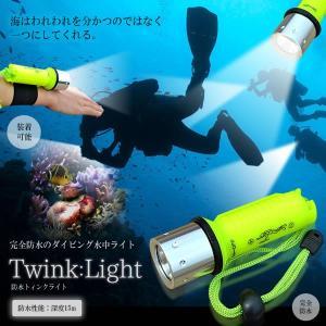 完全防水 トィンクライト 水中 ライト ダイビング LED懐中電灯最強力防水ミニペンライト マリンスポーツ レジャー 海水浴 KZ-SJQ102-T6 即納|kasimaw