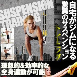 サスペンション トレーニング 筋トレ エクササイズ 運動 KZ-SUS-TR 即納|kasimaw