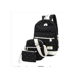 シンプル リュックサック 47 お洒落 全5色 3点セット 学生 旅行 通勤 MI-A-BAG47|kasimaw