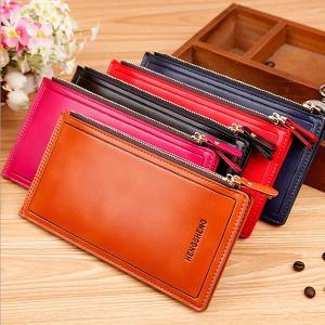PU製 ロング カードケース 大容量 3カラー 男女兼用 財布 メンズ レディース KZ-LGCARD 即納|kasimaw