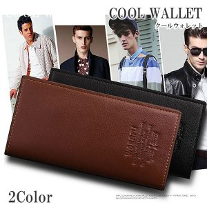 PU製 ロング 財布 大容量 2カラー 男女兼用 スタイリッシュ 長財布 メンズ レディース KZ-LGCARD8|kasimaw