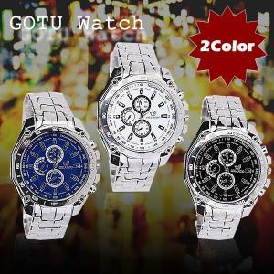 メンズ 腕時計 時計 シンプル プライベート ビジネス フォーマル ブラック ホワイト プレゼント 2カラー KZ-GOTUWATCH 予約|kasimaw