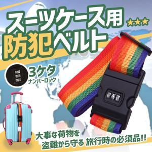 スーツケース用 防犯ベルト ダイヤル式 旅行 KZ-V-STCSBELT 即納|kasimaw
