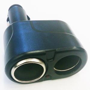 シガーソケット 12V/24V対応 2分配器 汎用型 2連 カー用品 車用品 V-SHIGA2|kasimaw