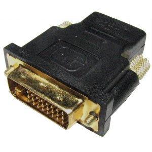 DVI to HDMI 変換 アダプター HDMIメス DVI24ピンオス KZ-P-DVIPDAPTER 即納|kasimaw