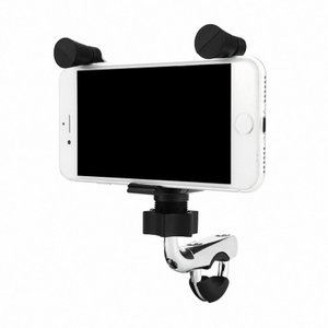 バイク用 スマホホルダー USB 搭載 充電 可能 ナビ 固定 ツーリング アウトドア 便利 iphone 携帯 スマホ MOTOWOLF 予約|kasimaw
