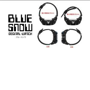 ブルースノウ 腕時計 高級感 デジタル ウォッチ クロック デジタル 防水 スポーツ メンズ BLUESNOW|kasimaw|05