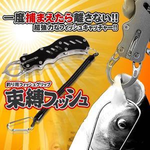 釣り用 束縛 フィッシュグリップ ステンレス製 軽量コンパクト 釣り 魚つかみ 便利 道具 沖釣り SOKUFISH kasimaw