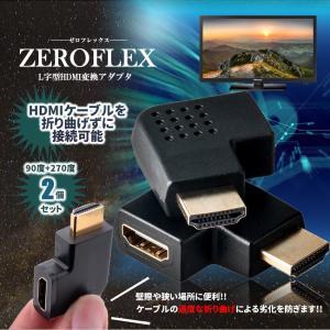 HDMI 変換アダプタ ゼロフレックス HDMIポート セー...