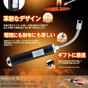 曲がる 電流 フレキシブル 電子 ライター USB 充電式 アークライト トーチ プラズマ ガス オイル不要 焼き肉 キャンプ キャンドル MAGADENFT|kasimaw|05