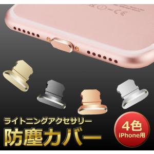 iPhone用 ライトニングカバー ライトニングアクセサリー Lightning 防塵カバー スマートフォンピアス アルミ RNGCB|kasimaw