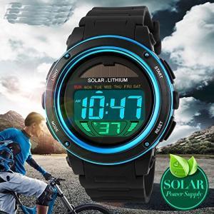 SKMEI 腕時計 キッズ ブルー|kasimaw