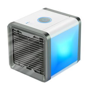 エアーマックス LED 卓上 エアコン 冷却 ファン 風量3段階切り替え 加湿 空気清浄機 照明 ライト ポータブル 扇風機 AIRMAX-FAN kasimaw 08