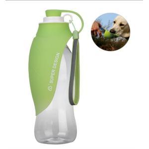 ペット給水器 携帯用水飲み 犬 携帯給水器 ウォーターボトル 水漏れ防止 カップ付き水飲み お散歩 旅行 ランニング アウトドア 犬水MI-PETACC|kasimaw