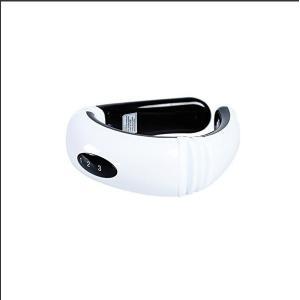 ネックマッサージャー ポータブル 電磁治療 首の痛み・肩の痛み・背の痛みに適応 頚椎治療器具 ホワイトMASSAGE kasimaw