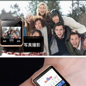 スマート ウォッチ フルタッチ ウォッチ 多機能 時計 健康 カメラ搭載 ブルートゥース 腕時計 通話 電話 着信 通知 腕 時計 DZ09SW-BK|kasimaw|04