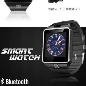 スマート ウォッチ フルタッチ ウォッチ 多機能 時計 健康 カメラ搭載 ブルートゥース 腕時計 通話 電話 着信 通知 腕 時計 DZ09SW-BK|kasimaw|06