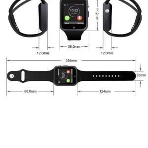スマートウォッチ Bluetooth 多機能 腕時計 デジタル ブルートゥース smart watch 通話 電話 着信 通知 LINE バイブ 健康 管理 振動 MIRAIWATCH|kasimaw|06