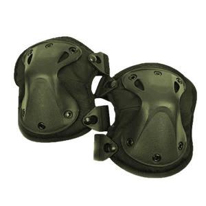 ニーパッド X-TYPE グリーン 膝当て 肘当て 4点セット サバゲー SV-NEPAD|kasimaw