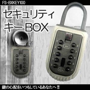 鍵の心配をいつもしているあなたへ セキュリティ カー キー ボックス カー用品 人気 KZ-BXKEY100  即納|kasimaw
