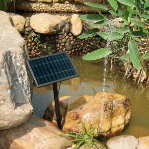 ワケアリ ソーラー 噴水 ガーデン 太陽光 を使用するから電気代がかからないうえに省エネ ファン池ポンプ FS-SP002-B|kasimaw