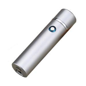 プレジデント マットシルバー usbライター 電気ライター プラズマ ライター小型 USB 充電式 電熱線 ガス オイル不要 防風 軽量 薄型 PRELITER-MSV kasimaw 07