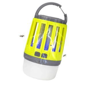 電撃殺虫器 LEDランタン uv光源吸引式捕虫器 蚊取り器 LingLang USB充電式 1800mAh大容量 IPX6完全防水 最大20時間連続使用 DESATEN|kasimaw|07