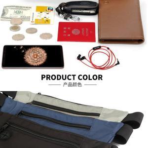 ブロックライムバッグ ブラック スキミング防止 セキュリティ ウエスト ポーチ パスポートケース 貴重品 盗難対策  旅行 防水 大容量 BLOCRIME-BK kasimaw 06