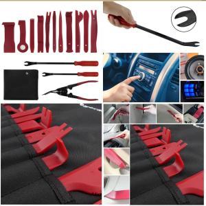 車用 内張り剥がし 15点セット パネルはがし クリップ クランプツール 内装は ハンディ 樹脂製 脱着工具 MA-253|kasimaw|03