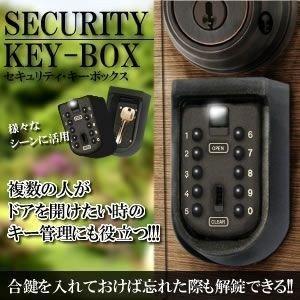 セキュリティ 固定型 キー暗証番号型ボックス KEYFIX-BOX|kasimaw