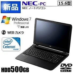 NEC Windows7 ノートパソコン 15.6型 WEBカメラ DVD PC-VK14|kasimaw