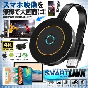スマホ ドングル 無線 スマートリンク HDMI バックミラー 2.4G レシーバー 4K 大画面 高品質 iOS Android Windows  SMALINKES|kasimaw