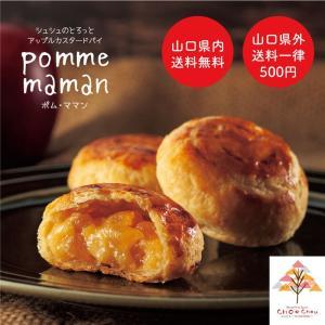 【母の日】シュシュのとろっとアップルカスタードパイ【ポム・ママン】15個入|kasinoki