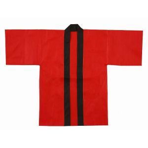 カラー不織布はっぴ 帯付 大人用 1枚 kasugado