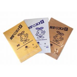 色画用紙(ニューカラー金・銀・銅) 8切 単色 10枚入|kasugado
