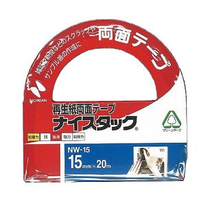 ニチバン 再生紙両面テープ ナイスタック 15mm|kasugado