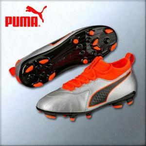 プーマ ジュニア用サッカースパイク プーマワン3レザーHG JR 104778-01|kasukawa