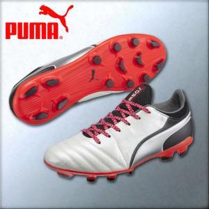 プーマ サッカースパイク プーマワンJ2HG ワイドフィット 104983-02|kasukawa
