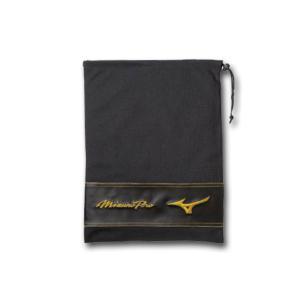 2018年モデル ミズノ MIZUNO ミズノプロ シューズ袋 ブラック 11GZ170000|kasukawa