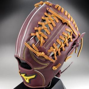 2015年展示会限定色 ミズノプロスピードドライブテクノロジー 一般硬式内野手用4/6 1AJGH12143 68:プラムブラウン 右投げ|kasukawa