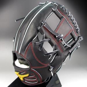 ミズノ MIZUNO 一般軟式内野手用右投げ K-KLUB 限定 MIZUNO PRO 1AJGR13023(09)ブラック kasukawa