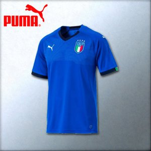 プーマ レプリカユニフォーム イタリア代表 ホーム用 FIGC ITALIA HOME SHIRT REPLICA 752281-01 2018年モデル|kasukawa