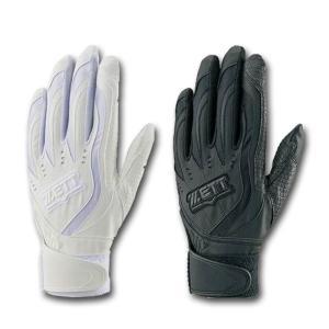 2018年モデル ゼット ZETT バッティング手袋 両手用 インパクトゼット 高校野球対応 BG997HS 2色展開|kasukawa
